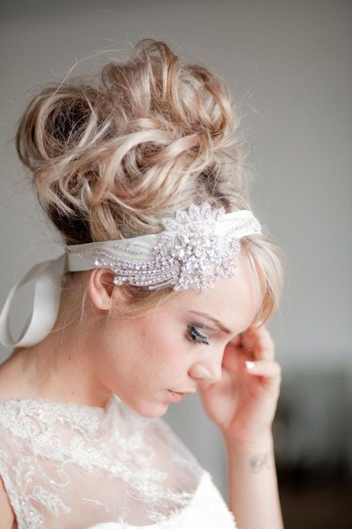 Messy High Bun Updos For Bride And Bridesmaids The Best 10 Nail