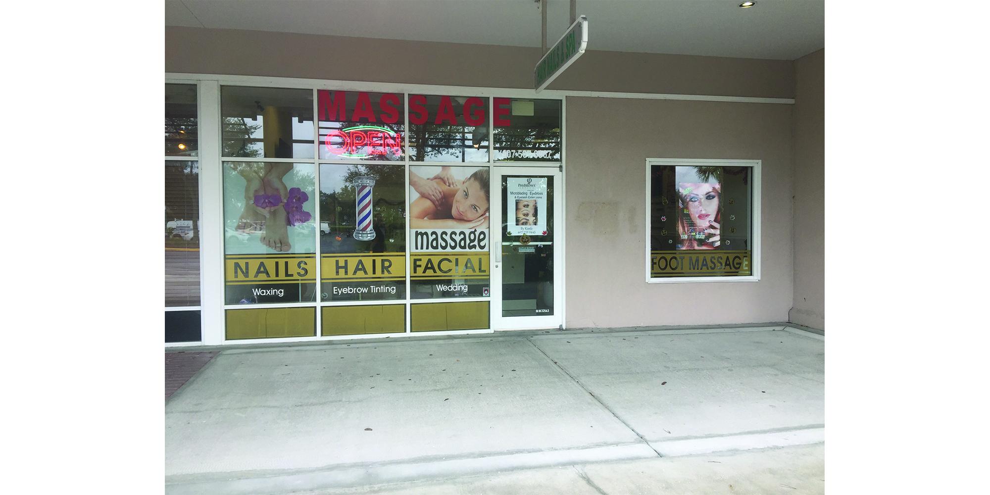 nail salon near disney world |